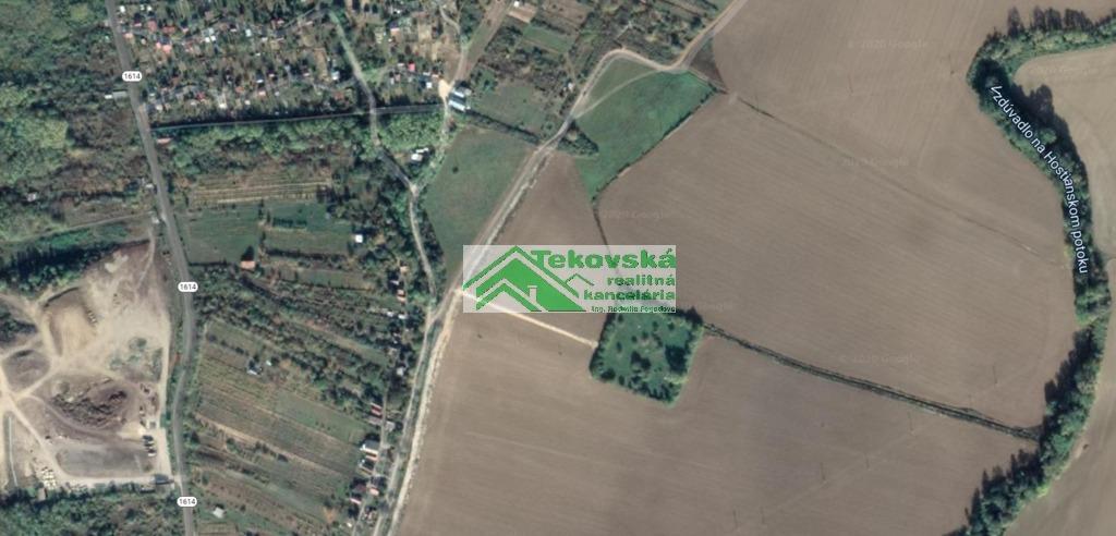 Rekreačný pozemok 6352m2