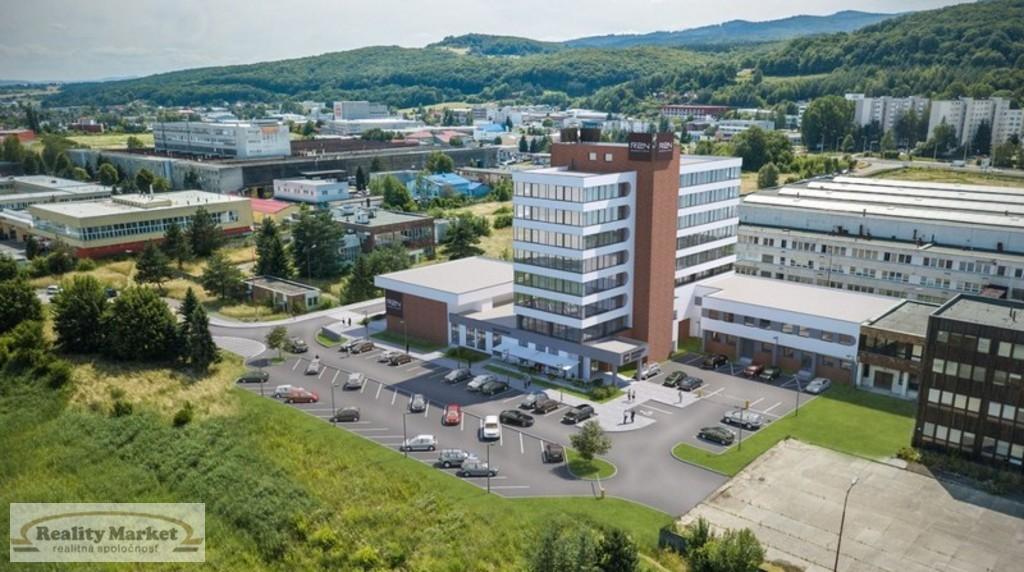 Kancelárie, administratívne priestory 500m2, novostavba