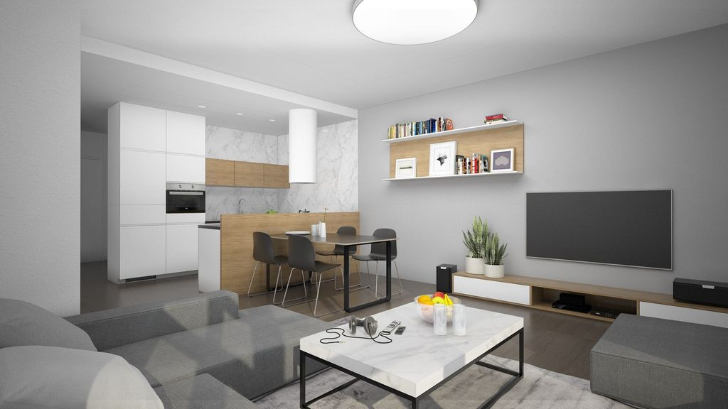 2-izb. byt 69m2, novostavba