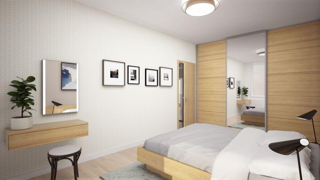 2-izb. byt 61m2, novostavba