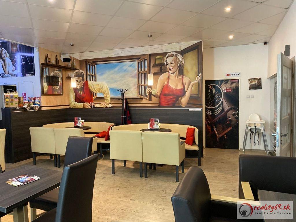 Reštauračné priestory 120m2, kompletná rekonštrukcia