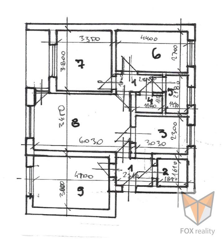 4-izb. byt 90m2, pôvodný stav