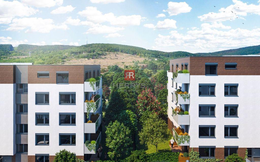 2-izb. byt 53m2, vo výstavbe
