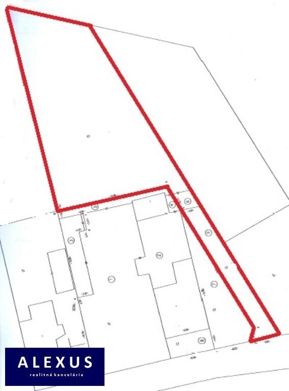 Pozemok pre rodinné domy 984m2