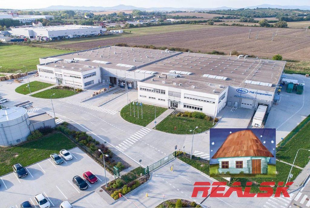 Výrobný objekt 3600m2, vo výstavbe