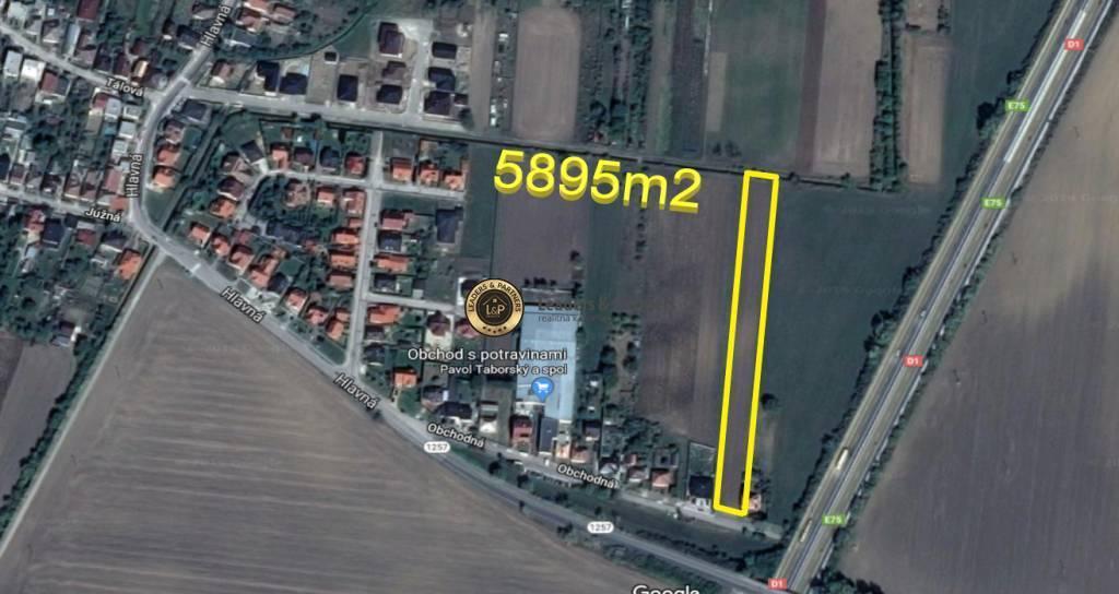 Pozemok pre rodinné domy 5895m2