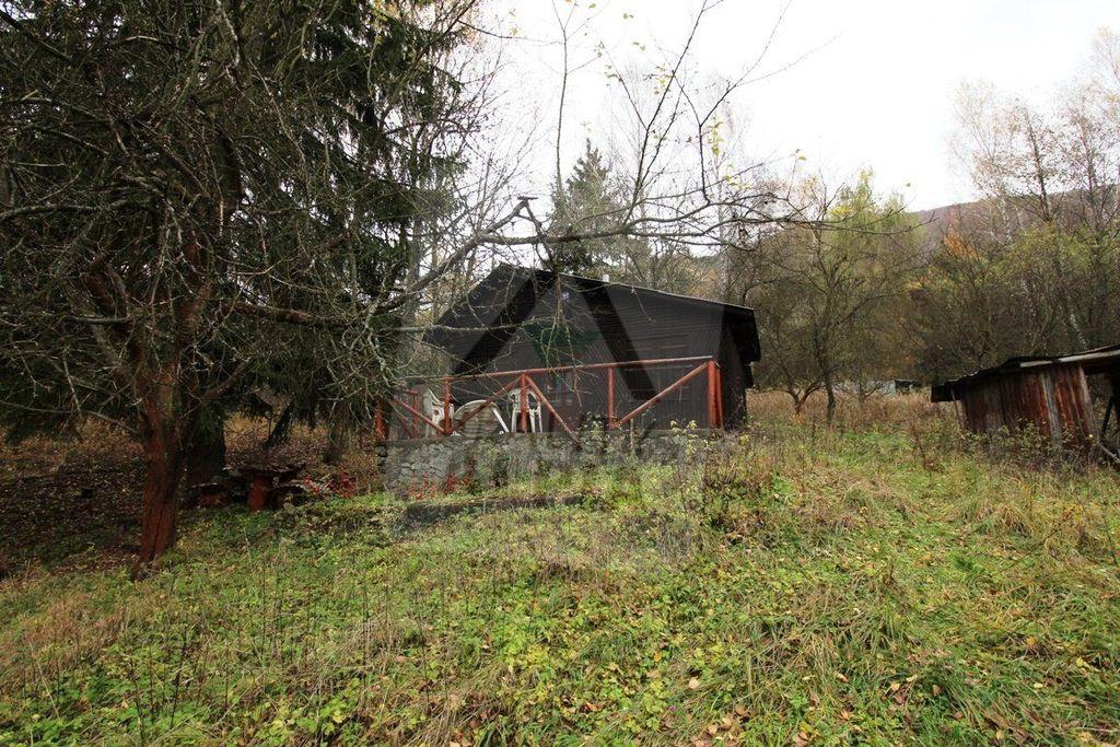 Záhradná chata 1710m2, pôvodný stav