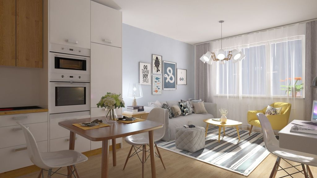 1-izb. byt 29m2, pôvodný stav
