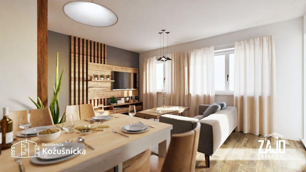1-izb. byt 38m2, novostavba